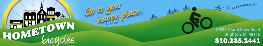 Hometown Bicycles - Go to Your Happy Place!