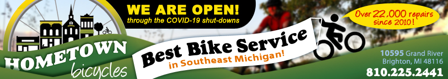Yes, Hometown Bicycles is OPEN during COVID-19 shutdowns!